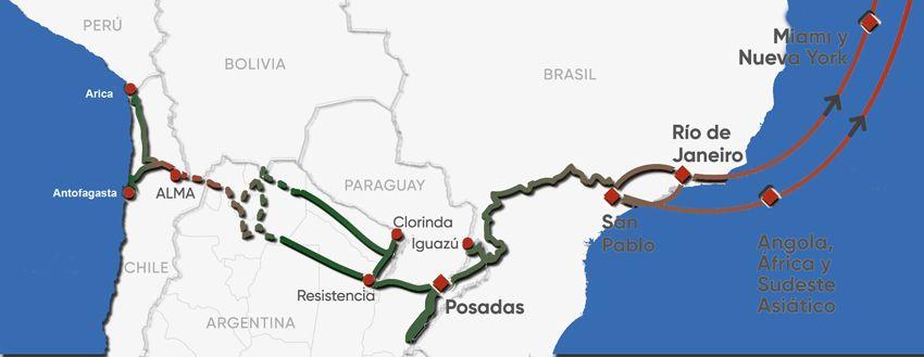 La red Capricornio es la segunda conexión web de la Argentina y aspira a ser una de las más importantes de América Latina.